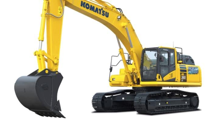 Hybrid excavator promises big fuel savings