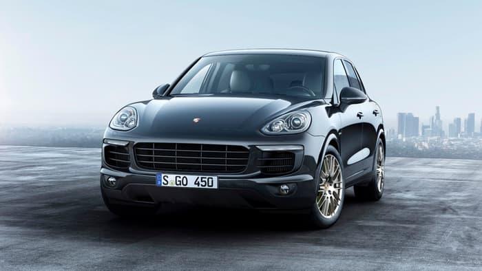 Porsche Cayenne Diesel, E-Hybrid get the Platinum treatment
