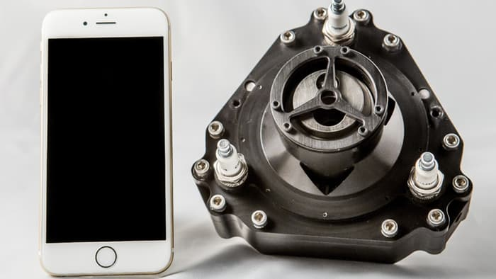 Game-changing rotary engine muscles a go-kart