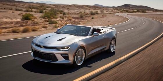 2016 Chevrolet Camaro : Review