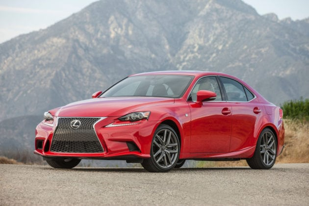 2016 Lexus IS 200t Is Turbocharged Style