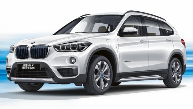 BMW saves first plug-in hybrid compact luxury SUV for China