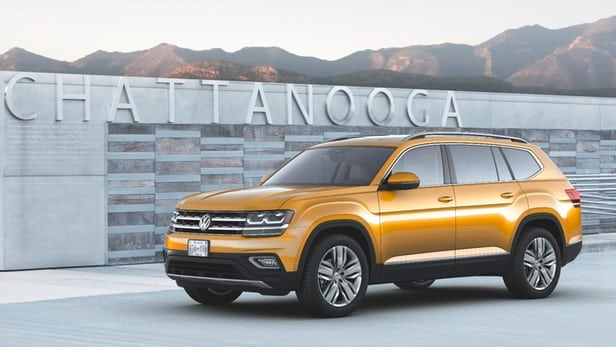VW's largest vehicle targets active America
