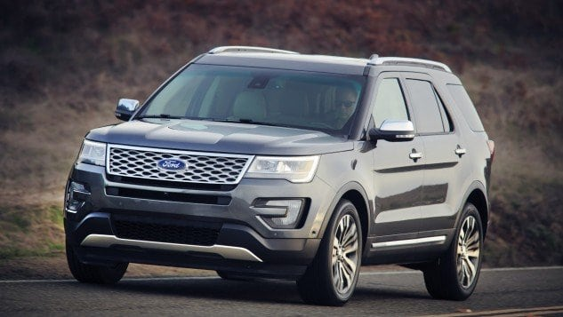 Review: 2016 Ford Explorer Great for Families, With Upscale Interior