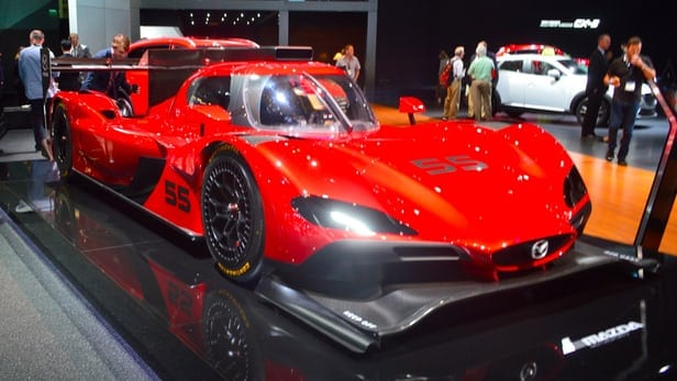 Mazda reveals RT24-P prototype race car