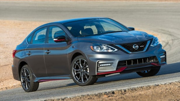 2017 Nissan Sentra NISMO sets LA on fire with racey goodness