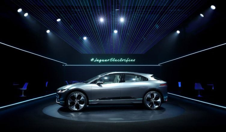 Jaguar I-Pace Unveiled as Jag's First Battery-Electric Vehicle