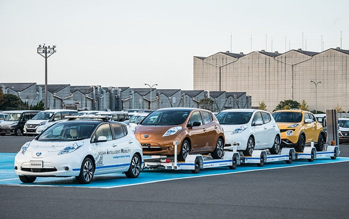 Nissan Debuts Automated Towing System | EV Meme