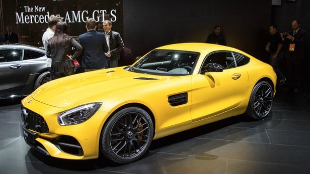 Mercedes-AMG celebrates its 50th with new AMG GT C Coupe