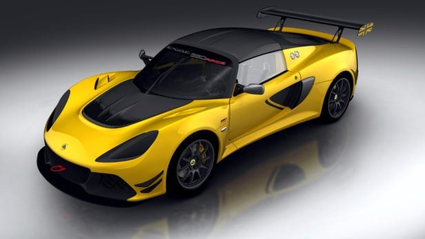 Lighter, faster track-only version of Lotus Exige Sport 380 announced