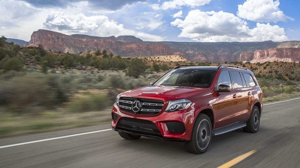 Review: 2017 Mercedes-Benz GLS550 – new name, same muscular SUV