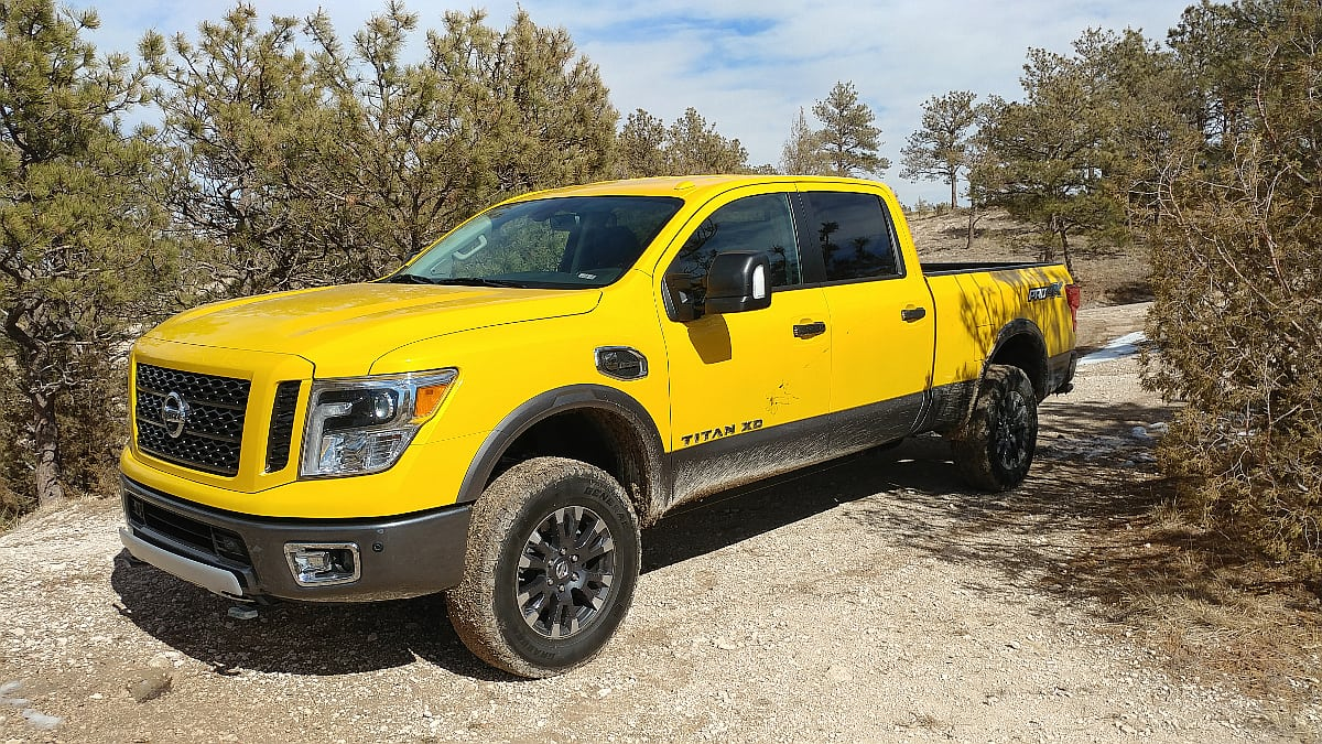 2017 Nissan Titan XD in a Class of Its Own