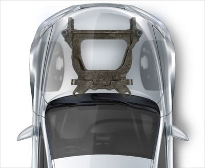 Ford, Magna Co-developing Carbon Fiber Composite Subframe