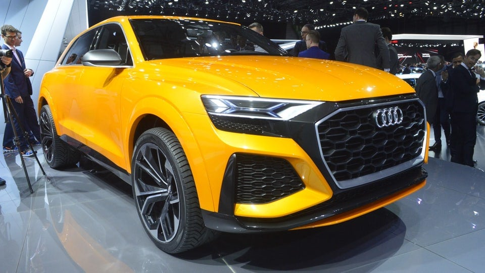 Audi gets sporty with the Q8 sport concept at Geneva