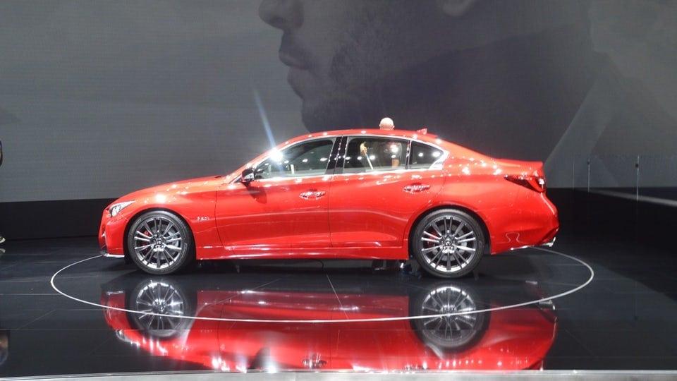 Infiniti unveils the refreshed 2018 Q50 sedan