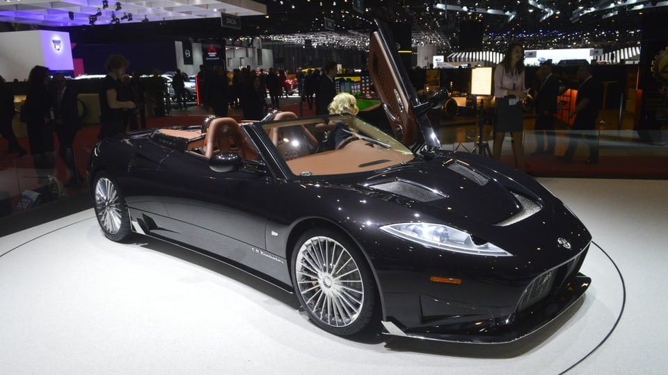Spyker goes with Koenigsegg for C8 Preliator Spyder engine