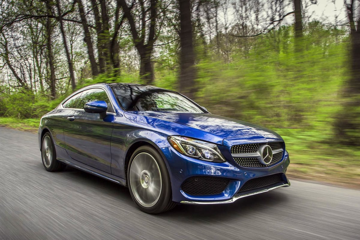 The 2017 Mercedes-Benz C300 Delivers Attainable Luxury In A Fun Coupe