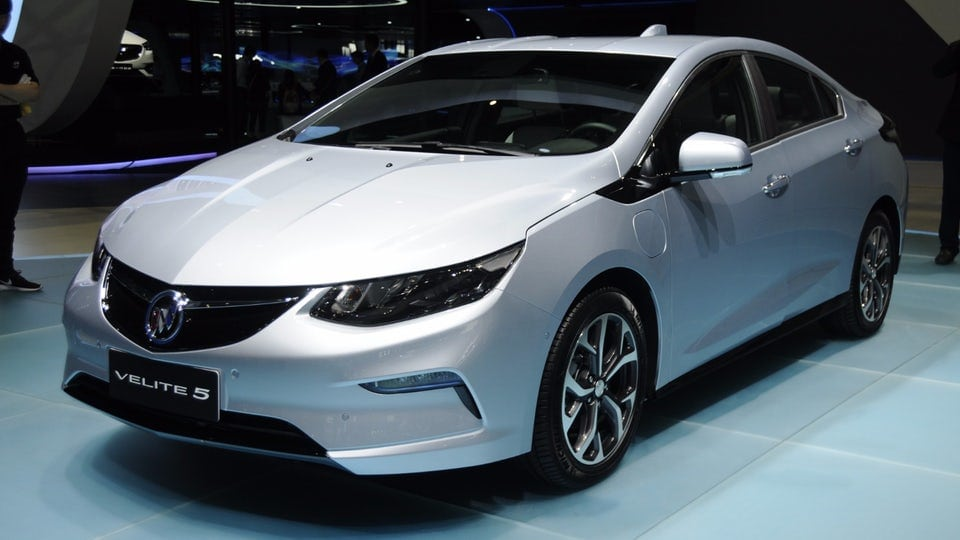 Buick introduces Volt-based Velite 5 to China