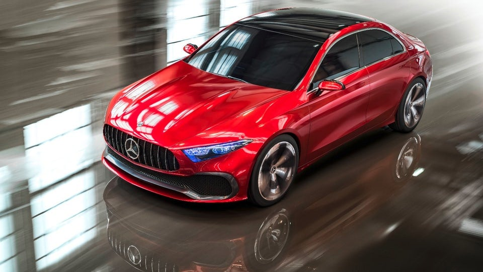 Mercedes-Benz Concept A Sedan debuts in Shanghai