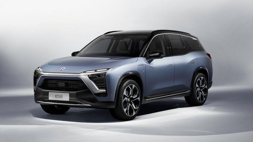 NIO unveils production electric SUV