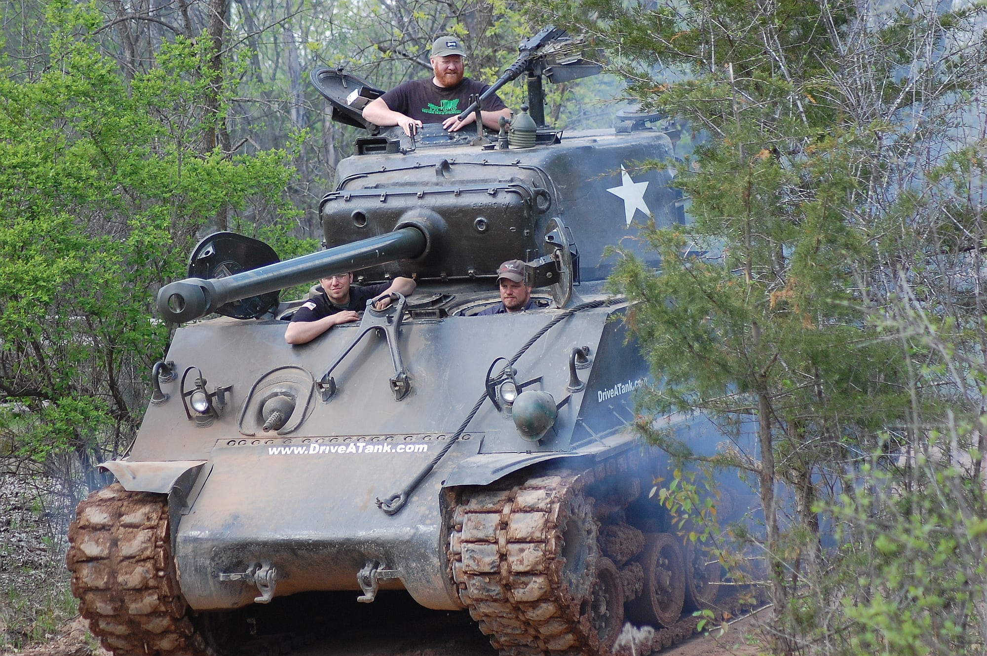 We went to Minnesota and drove some tanks