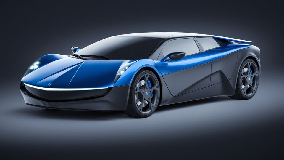 Swiss-designed, all-electric, four-door supercar to tackle Tesla