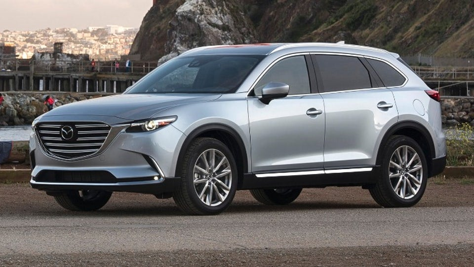 review 2017 mazda cx 9 cuts an impressive crossover figure aaron on autos. Black Bedroom Furniture Sets. Home Design Ideas