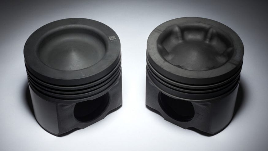 Volvo Wave Piston Improves Efficiency