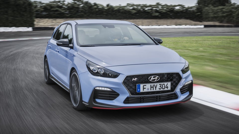 Hyundai heats up its i30 hatch with N performance trim