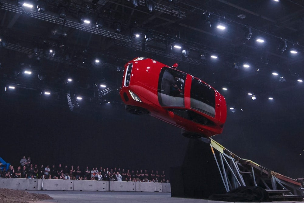 Jaguar E-Pace Barrel Rolls Into The Spotlight