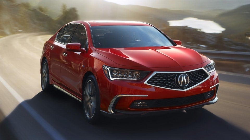 Acura to debut 2018 RLX and its hybrid sports car design at Monterey