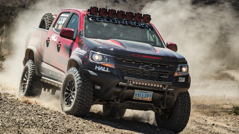 Chevy ZR2 takes to the desert with Hall Racing
