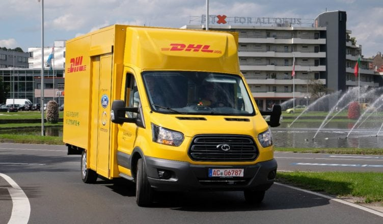 Deutsche Post DHL and Ford Unveil Electric Delivery Van