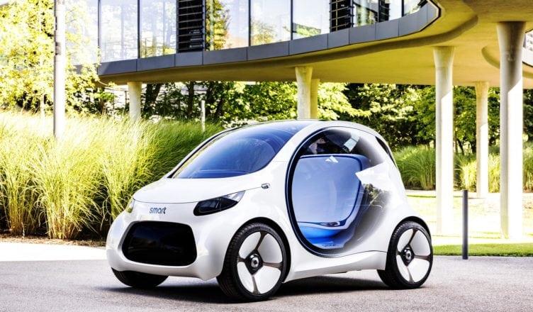 Mercedes-Benz Unveils EQ fortwo Autonomous Urban Mobility Concept