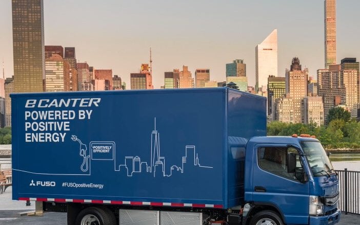 Electric FUSO eCanter Begins Deliveries Globally, Starting in NY