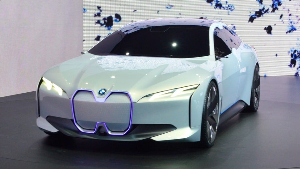 BMW i Vision gran coupe enters Frankfurt as a vision of BMW's electric future