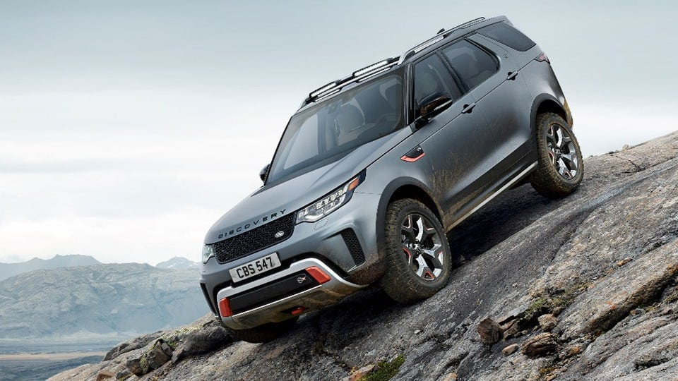 Land Rover gets rough and ready in Frankfurt with Discovery SVX