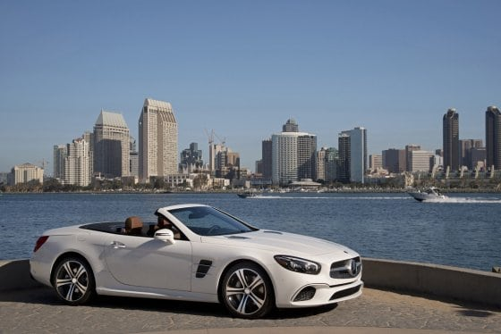 2017 Mercedes-Benz SL450 : Review