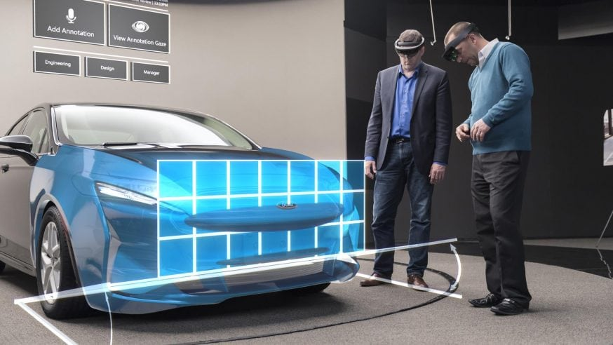 Holograms Make Car Design Faster, More Experimental at Ford