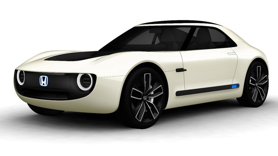 Honda shows two electrifying EV concepts in Tokyo