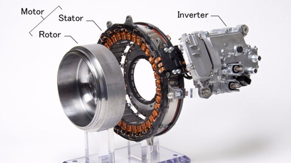 Mitsubishi Electric puts the hybrid system on the crankshaft