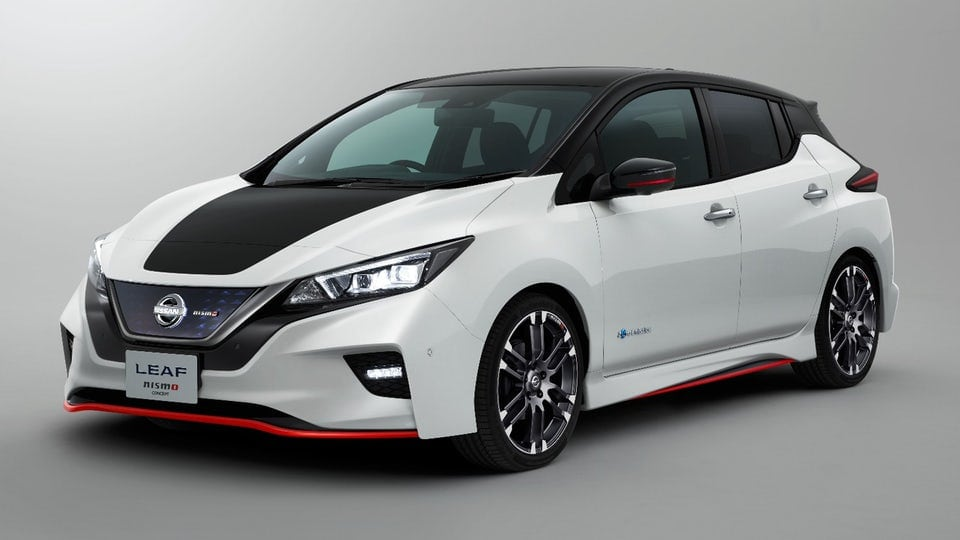 Nissan hots up the Leaf with Nismo concept