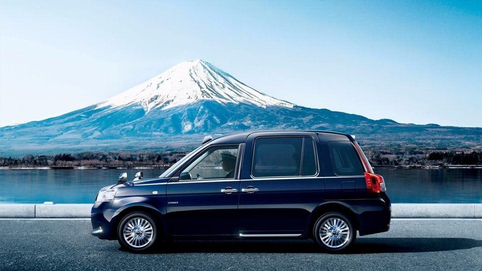 Toyota introduces LPG hybrid taxi for Japan