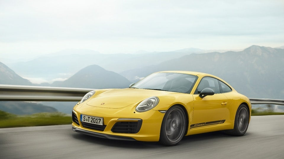 Porsche looks to the past for faster, lighter 2018 911 Carrera T