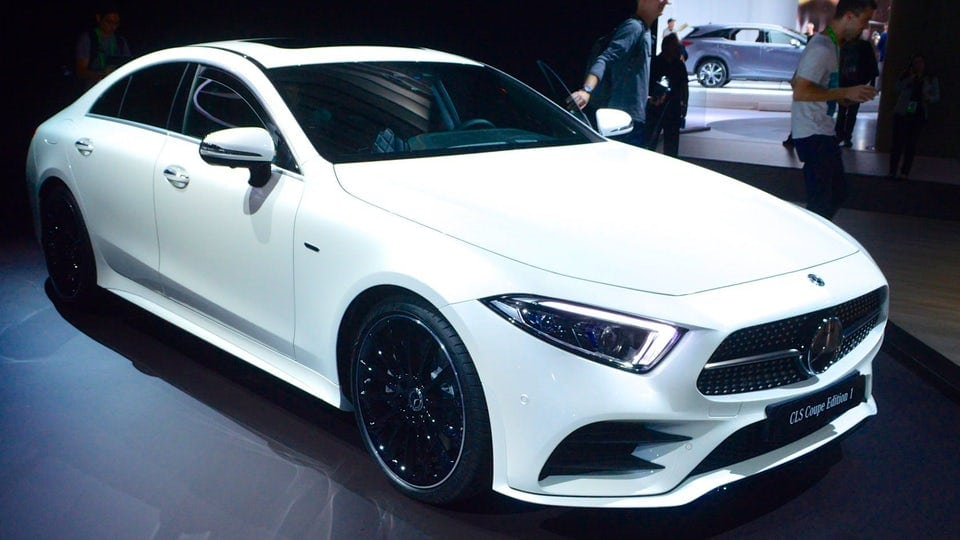 New-generation Mercedes-Benz CLS makes its debut