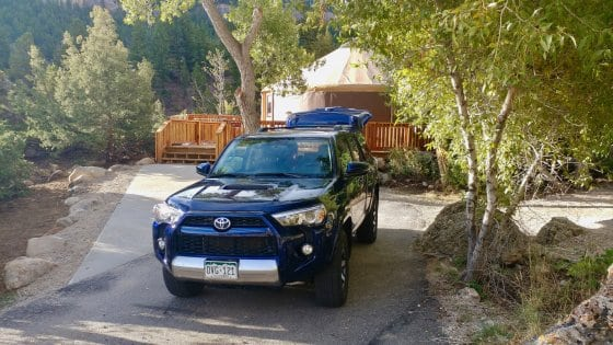 A Toyota 4Runner Family Adventure in Sinks Canyon, Wyoming