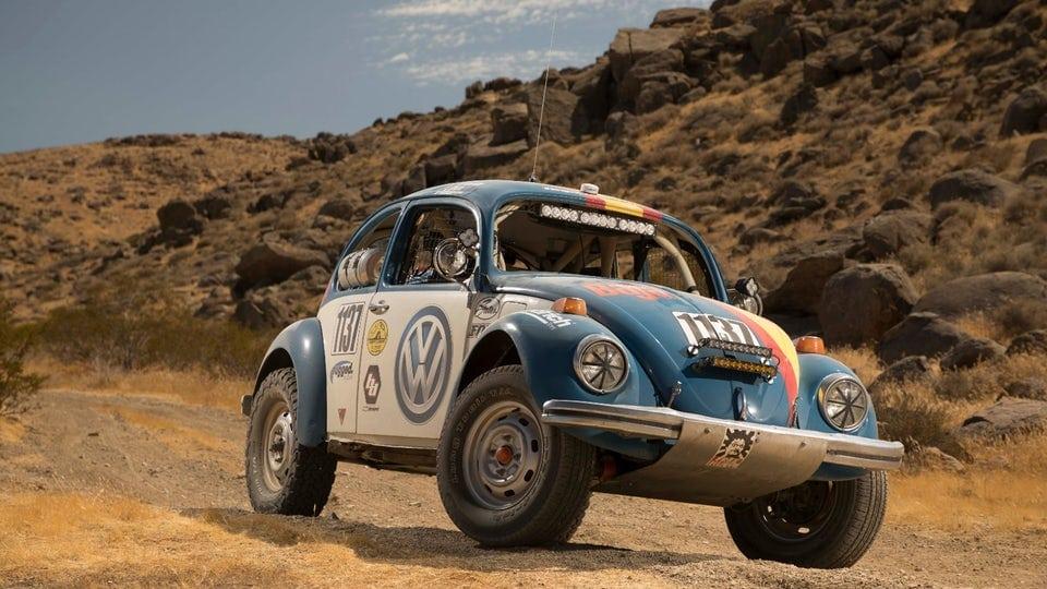 Volkswagen sponsoring old-school Beetle in Baja 1000
