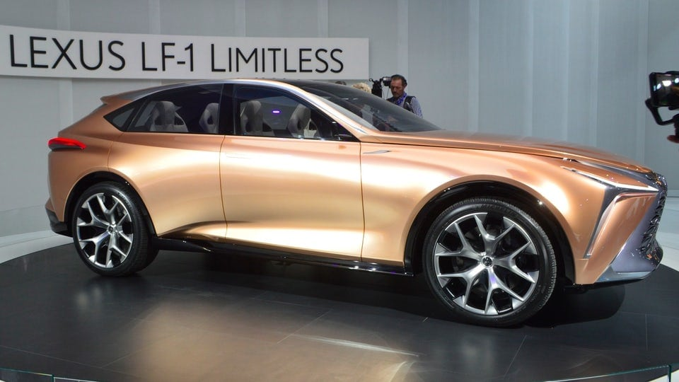 Lexus LF-1 Limitless Concept carves into Detroit as new flagship