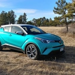 2018 Toyota C-HR brings Funkiness to Toyota's Lineup