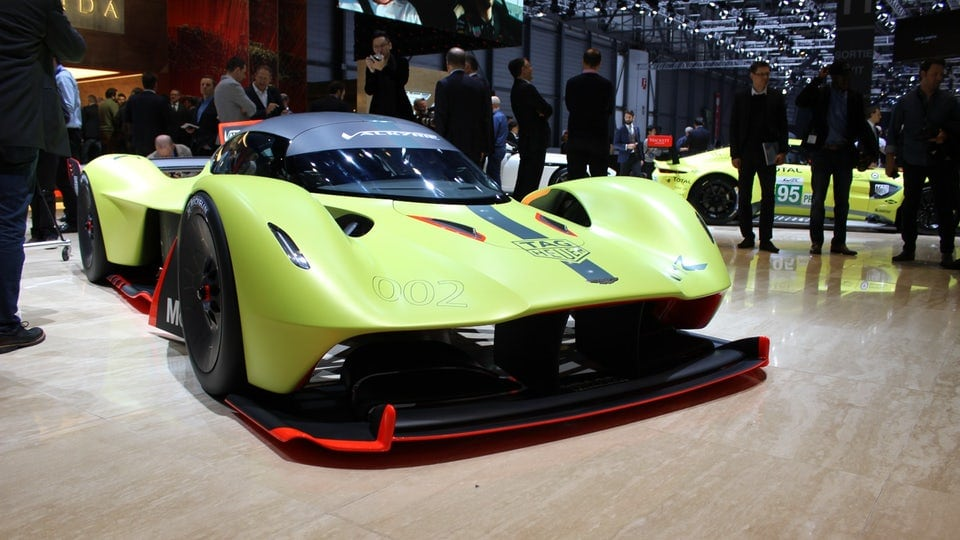 Aston Martin debuts track-only Valkyrie AMR Pro